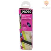 Set mat dekorativnih akrilnih barv P.BO DECO, 6 x 20 ml