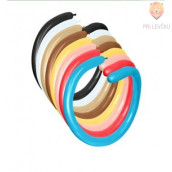 Baloni podolgovati za oblikovanje 100 kosov pastelni miks