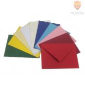 Barvna kuverta 155x110 mm 5 kosov