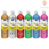 Acrylcolor sijoča akrilna barva z bleščicami 500ml