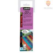 Set svetlečih dekorativnih akrilnih barv P.BO DECO GLOSSY, 6 x 20 ml