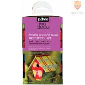 Set svetlečih dekorativnih akrilnih barv P.BO DECO GLOSSY, 12 x 20 ml