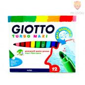Debeli flomastri Giotto Turbo maxi 12 kom