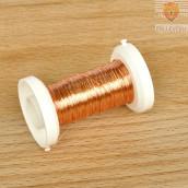 Žica bakrene barve 0,25 mm