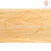 Kovinska ogrlica zlate barve