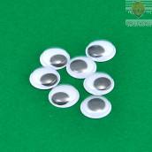 Oko gibljivo okroglo 4 kosi 24-30 mm