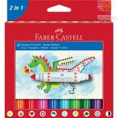 Flomastri s štampiljkami Faber-Castell 10/1