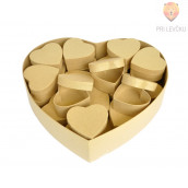 Kartonasta škatla set srce