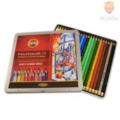 Polycolor umetniške barvice 24/1 Koh-I-Noor