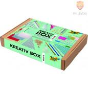 Kreativbox set z bleščicami 900-delni
