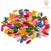 Perle lesene ovalne, 30 g