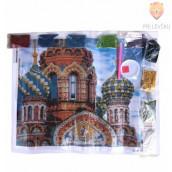 Slikanje s kristalčki Moskva Kremelj 40x50cm