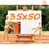Platno slikarsko 35x50cm 380 g/m2 1 kos