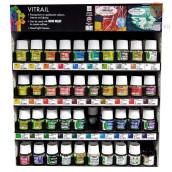 Prosojna barva za steklo Vitrail 45ml