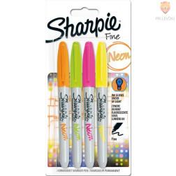 Markerji Sharpie fine set Neon 4 kosi