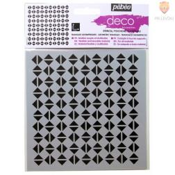 Deco šablona Trikotniki 15x15cm