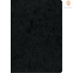 Zvezek A5 s črtami črn 40-listni