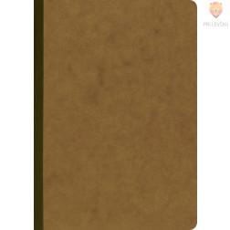 Zvezek A5 s črtami rjav 96-listni