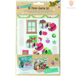 Set 2 Pop-out voščilnic Božič