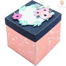Set za izdelavo Škatlice presenečenja-Explosion Box Romantik