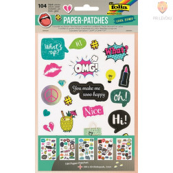 Kartonasti izrezki Paper-patches Cool Stuff 104 delni