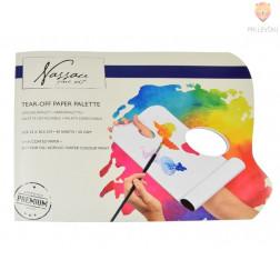 Paleta za mešanje barv z odstranljivimi listi