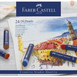 Oljni pasteli STUDIO Faber-Castell 24 kosov