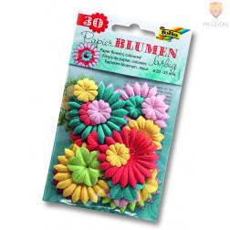 Papirnate rožice pisane 30 kos