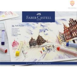 Mehki suhi pasteli STUDIO Faber-Castell 24 kosov