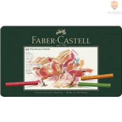 Suhi pasteli POLYCHROMOS Faber-Castell 60 kosov