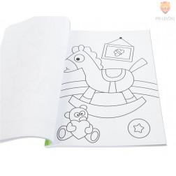 Otroška pobarvanka Colouring book 72 motivov