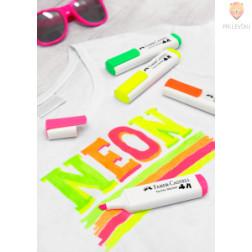 Flomastri za tekstil neon 4 kosi