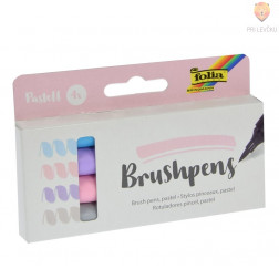 Brushpens set Pastel 4 kosi