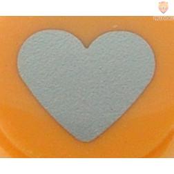 Luknjač mali 15mm Srce