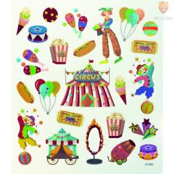 Nalepke Charming sticker Cirkus 49 kosov
