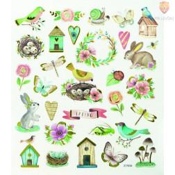 Nalepke Charming sticker Pomlad 60 kosov