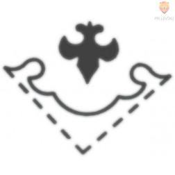 Kotni luknjač - Grb