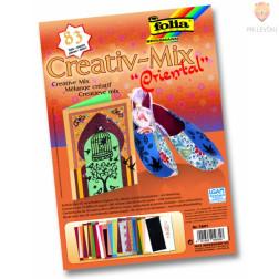 Papirni kreativni miks Oriental 17,5x25cm 83-delni