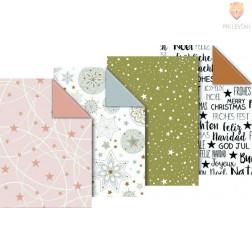 """Zavijalni papir """"GoldenXmas,"""" 80 g/m2, 70 x 200 cm"""