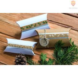 Kartonske darilne škatlice blazinice 18,5x9cm 6 kosov