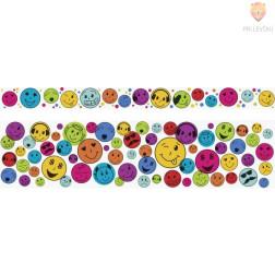 Set dekorativnih lepilnih trakov Emojis 2x5m 2 kosa