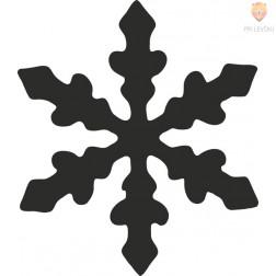 Luknjači mali 17mm Snežinka