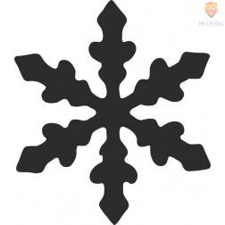 Luknjači srednji 25mm Snežinka