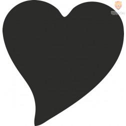 Luknjač srednji 25mm Srce elegant