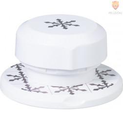 Flexi magnetni luknjač za papir Snežinka 3,6 cm