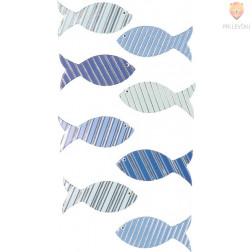 Nalepke z dekorativnimi detajli Ribice