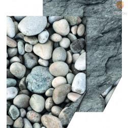 Karton z naravnimi motivi Prod in kamenje 50x70cm 300g/m2 1 kos