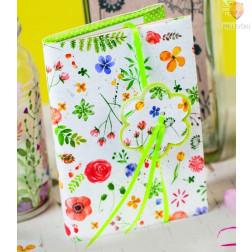 Karton z motivi Akvarelne rože 300g/m2 50x70cm 1 kos