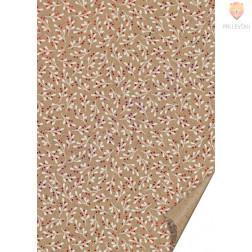 Naravni karton s potiskom vroče folije Omela 21x31cm 220 g/m2 1 kos