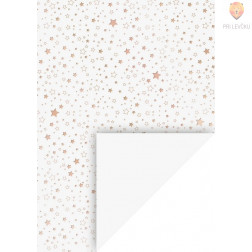 Karton z motivi Zvezdice A4 220g/m2 1 kos